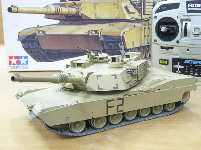 K10 - RC Conversion Kit for TAMIYA 1/35 M1A1/A