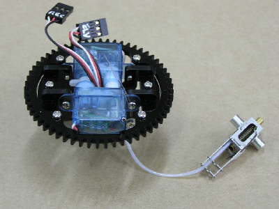 Turret Servos Assembly
